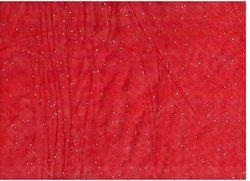 Сетка с блестками Красный