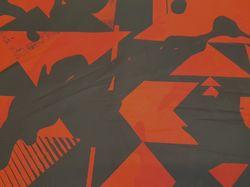 Красные геометрии на черном