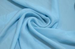 Креп Ненси № 7 небесно-голубой